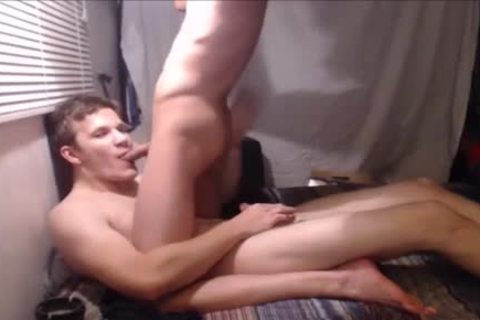 Smoking And Poking - Straight twinks Try Some gay Stuff