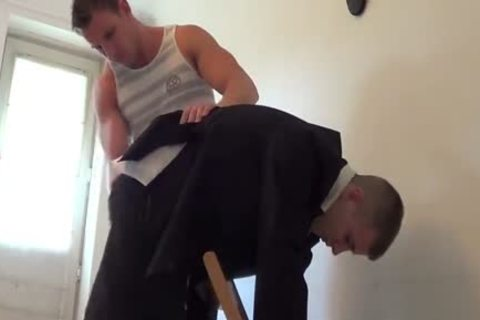 Collegeboy Carl Earns A thrashing
