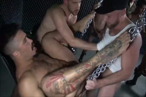 bareback - The large group group-sex - II