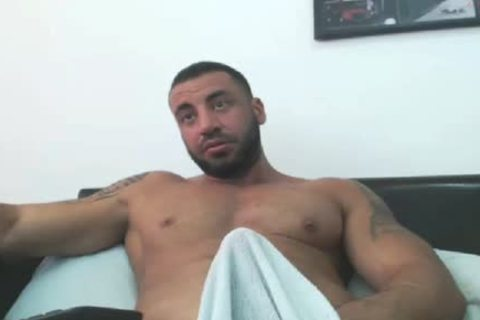powerful Arab Hunk Edging