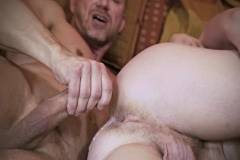 Muscle Daddy ass sex With cumshot