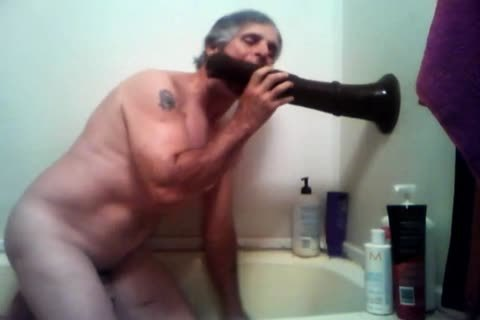older boy Plays With His Fleshlight In Shower