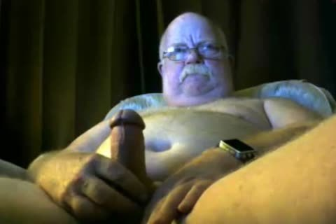 old man spooge On cam