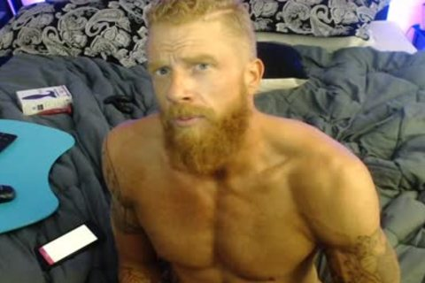 Straight Ginger webcam man