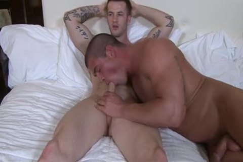 Muscle homosexual ass sex with ejaculation