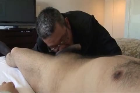 Daddy Businessmen Having Some enjoyment In A Hotel Room