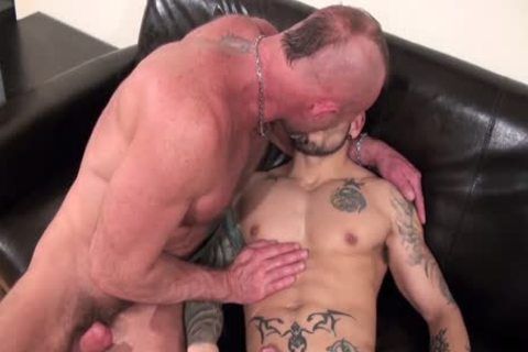 guys Doing What guys Do superlatively valuable; Pumping Each Other Full Of sleazy Loads Of cum