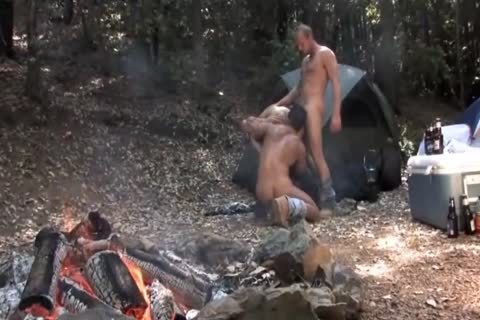 Hunk Takes two Loads In His mouth