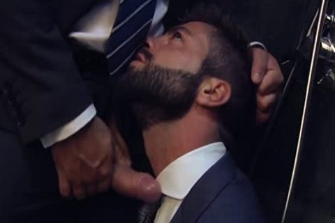 Muscle gay booty stab With Facial