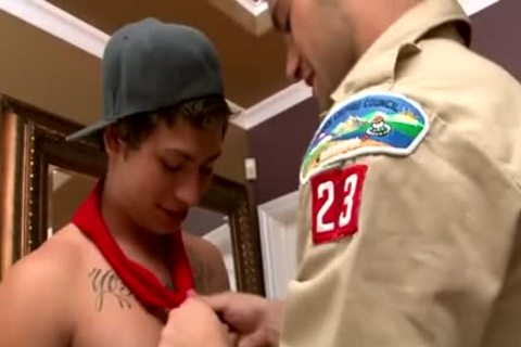 teens Scout 3some