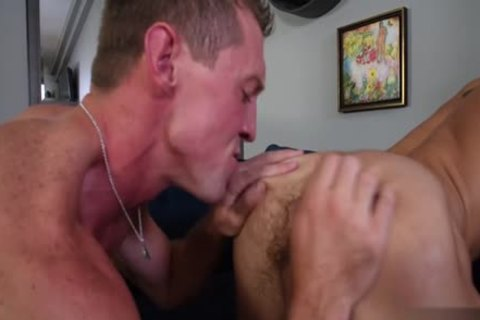 Thick shlong homo anal job and facial