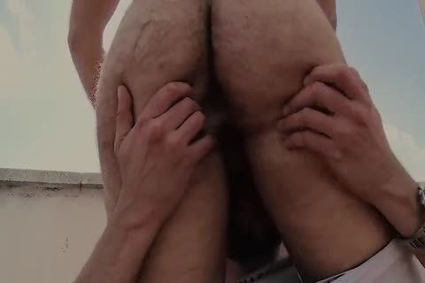 Roof lustful curly homosexual Sex