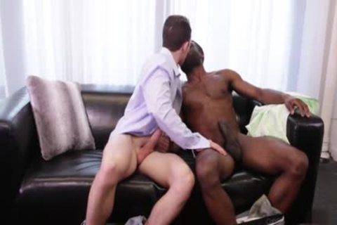 gigantic penis gay Interracial With cumshot