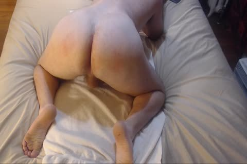 spanking Bubble anal With anal insert Jacking Off cum On Chest