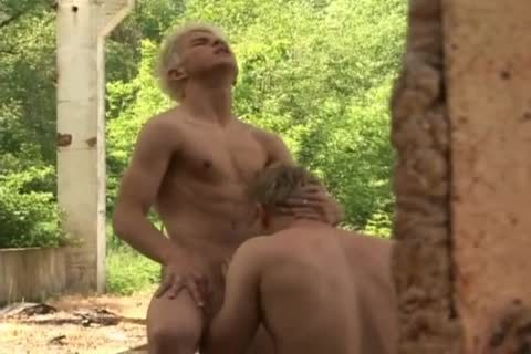 Czech boyz Have Some Interesting Outdoor Action
