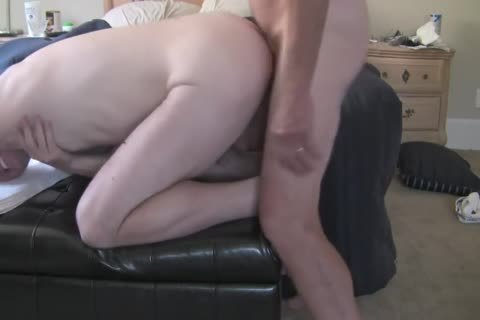 older man Enjoys His Bottom Son!
