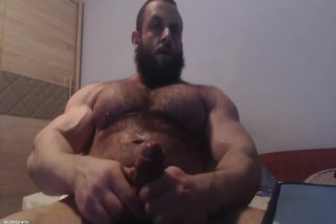 Very hotx hunk jerks off hugecock