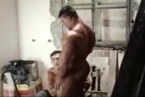 Brasil Bodybuilders big wazoo nailed By Hunk