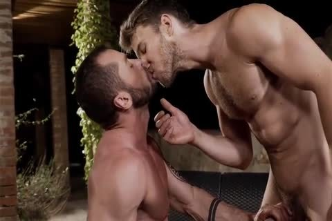 Two sexy Hunks plow