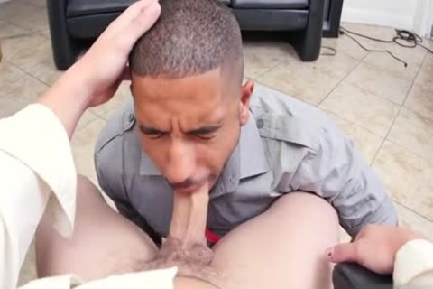 Muscle homo 3some And Facial