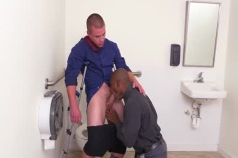 large 10-Pounder gay oral-stimulation With Facial