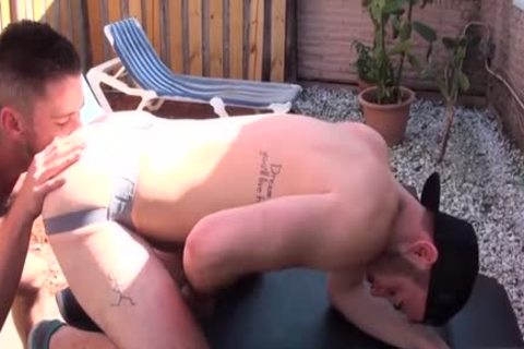 hairy Son butthole butthole banging And sperm flow