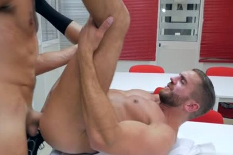 Muscle gay anal job With ball batter flow