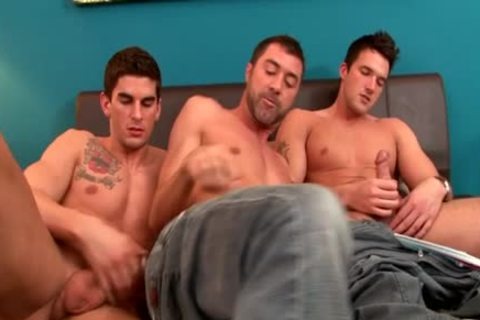 Tattoo homosexual booty to throat with cumshot