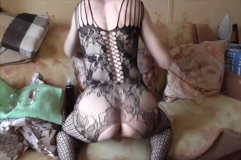 LanaTuls - Crossdress And AssPlay With toys And cream flow