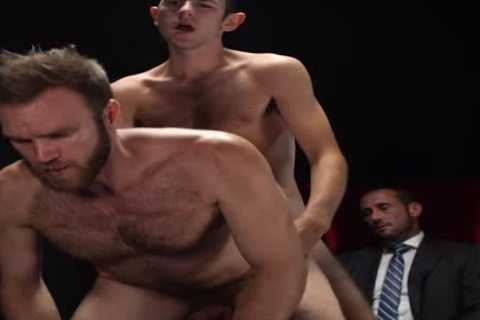 MormonBoyz - Two Missionaries slam As torture For Priest Daddy