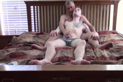 Ethan's arsehole receives Rammed bare