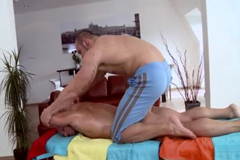 Muscle Daddy wazoo stab And Massage