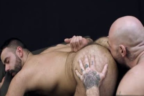 curly homosexual anal sex With cumshot