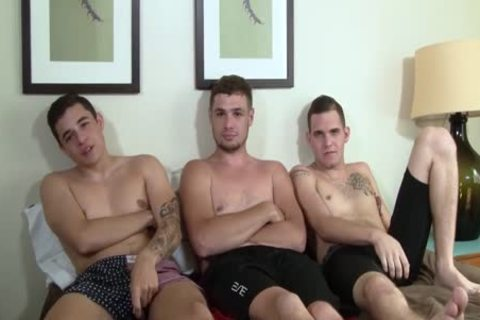 Bo receives nude fucked By Dominic & His Pal