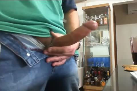 Daddy stroking And Cumming In The End
