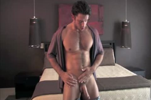 Legend men Gavin Wolfe 04 (Jeremiah Sanchez) - Solo With Fleshlight