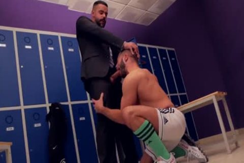 Teddy Torres fucked In The Locker Room