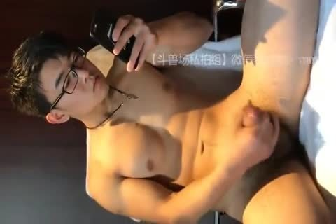 kinky oriental boy undresses Down And Jerks His weenie