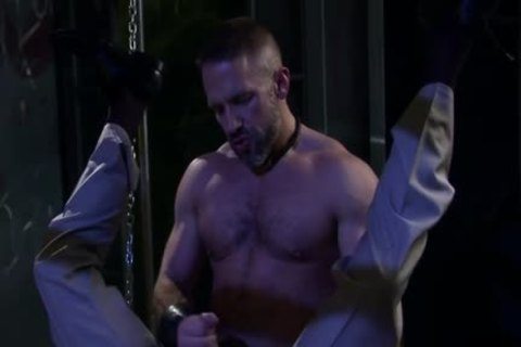 Muscle homosexual Fetish And cum flow