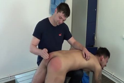 Hotel lad spanked owned