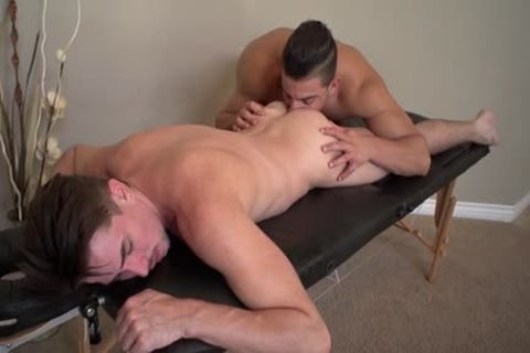 tasty gay oral stimulation-job And Massage