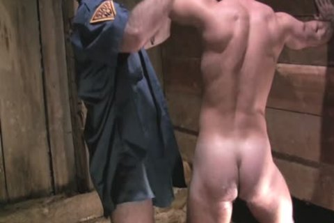Two lascivious Policemen Fist plow And Sodomise