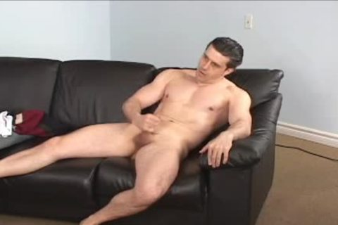 Touching Himself Until he Cums For Us