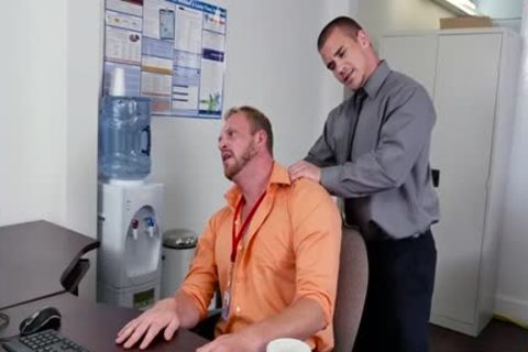 Muscle homosexual irrumation-service And Facial