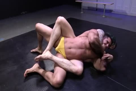 Friday Nite Wrestle 10 Orange Vs Yellow Speedos