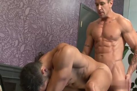 big cock homosexual Flip Flop And Facial