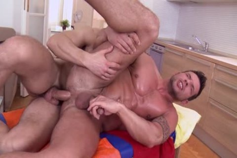 massive knob Daddy ass sex And Facial