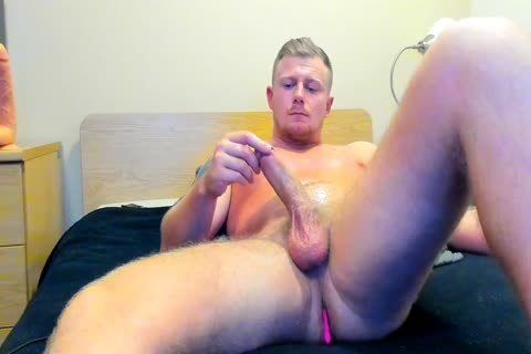 powerful British lad Jerks Off On cam