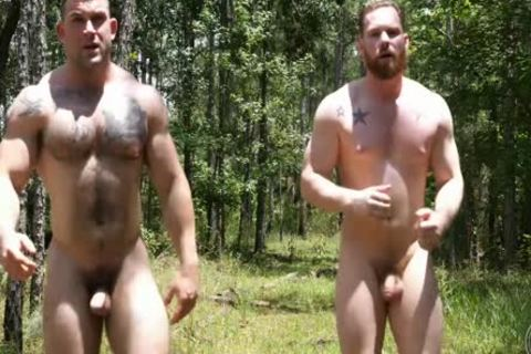 2 Swinging knobs In The Woods