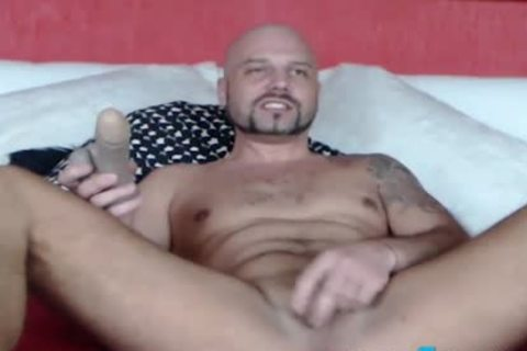 Fetish man CBT Ball Punching And Gaping arse Play